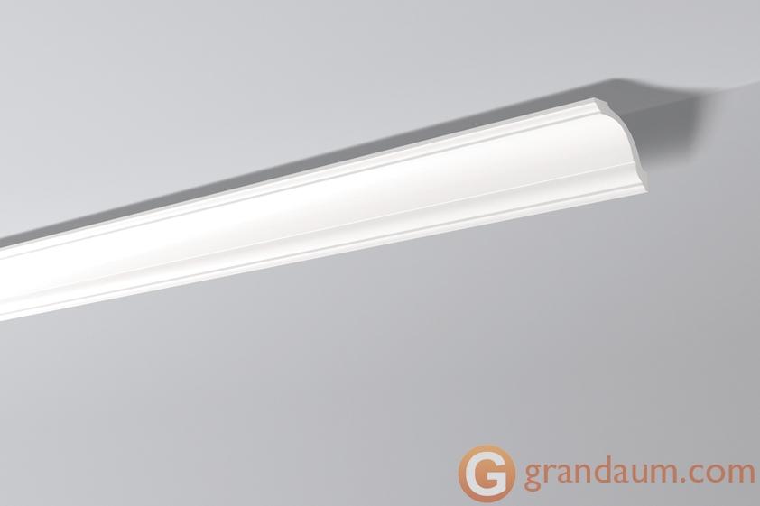 Потолочный плинтус с гладким профилем NMC GO