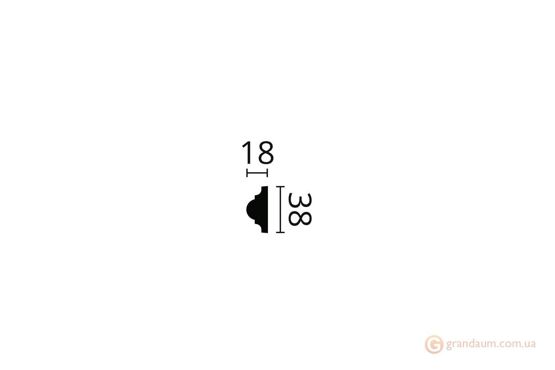 Молдинг с орнаментом NMC WO2 (2,0)