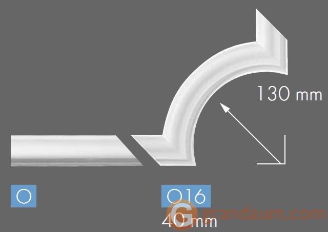 Угловые элементы и вставки NMC O16