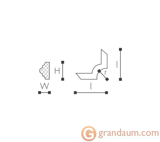 Угловые элементы и вставки NMC SP3-4