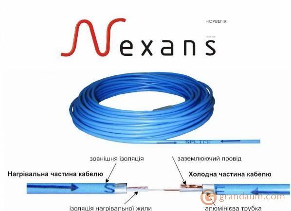 Нагревательный кабель Nexans Defrost Snow одножильный (22,9м, TXLP/2R 640/28)