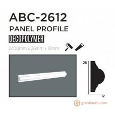 Молдинг с гладким профилем Decolux ABC2612