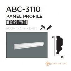 Молдинг с гладким профилем Decolux ABC3110