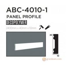 Молдинг с гладким профилем Decolux ABC4010