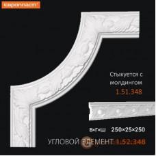 Угловые элементы и вставки Европласт 1.52.348