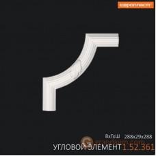 Угловые элементы и вставки Европласт 1.52.361