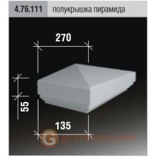 Балюстрада для фасада Европласт 4.76.111