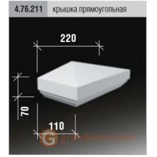 Балюстрада для фасада Европласт 4.76.211
