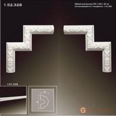 Угловые элементы и вставки Европласт 1.52.328 Уголок У-328