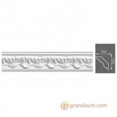 Потолочный плинтус с орнаментом, багет Формат 13020 32*32MM