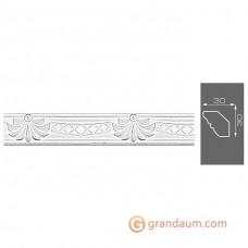 Потолочный плинтус с орнаментом, багет Формат 4055 30*30MM