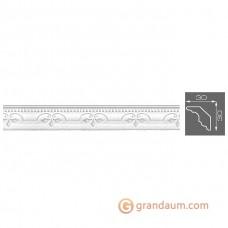 Потолочный плинтус с орнаментом, багет Формат 4057 30*30MM