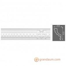 Потолочный плинтус с орнаментом, багет Формат 6060 33*55MM