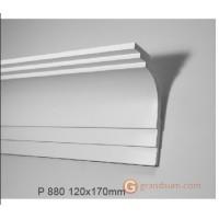 Карниз с гладким профилем Gaudi decor P 880 (2.44м)