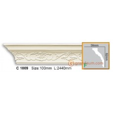 Карниз гибкий Gaudi decor C1009 (2,44м) Flexi