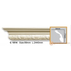 Карниз гибкий Gaudi decor C1014 (2,44м) Flexi