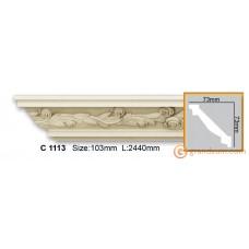 Карниз гибкий Gaudi decor C1113 (2,44м) Flexi