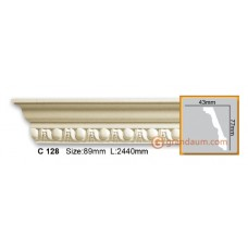 Карниз гибкий Gaudi decor C128 (2,44м) Flexi