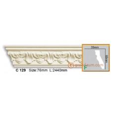 Карниз гибкий Gaudi Decor C129 (2.44м) Flexi
