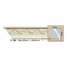 Карниз гибкий Gaudi decor C160 (2,44м) Flexi
