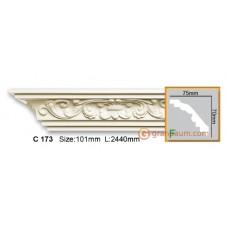 Карниз гибкий Gaudi decor C173 (2,44м) Flexi