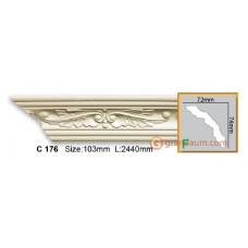 Карниз гибкий Gaudi decor C176 (2,44м) Flexi