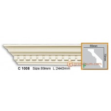 Карниз гибкий Gaudi Decor C 1008 (2.44м) Flexi