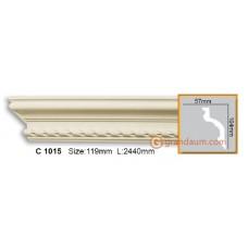 Карниз гибкий Gaudi Decor C 1015 (2.44м) Flexi