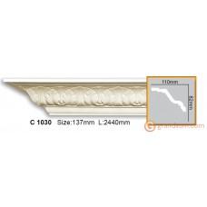 Карниз гибкий Gaudi Decor C 1030 (2.44м) Flexi