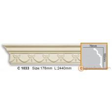 Карниз гибкий Gaudi Decor C 1033 (2.44м) Flexi