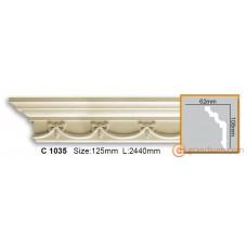 Карниз гибкий Gaudi Decor C 1035 (2.44м) Flexi