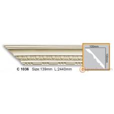 Карниз гибкий Gaudi Decor C 1036 (2.44м) Flexi