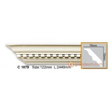 Карниз гибкий Gaudi Decor C 1079 (2.44м) Flexi