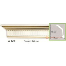 Карниз гибкий Gaudi Decor C 121 (2.44м) Flexi