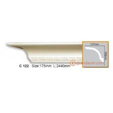 Карниз гибкий Gaudi Decor C 122 (2.44м) Flexi