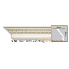 Карниз гибкий Gaudi Decor C 123 (2.44м) Flexi