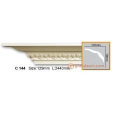 Карниз гибкий Gaudi Decor C 144 (2.44м) Flexi