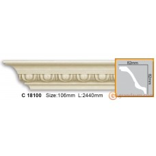 Карниз гибкий Gaudi Decor C 18100 (2.44м) Flexi