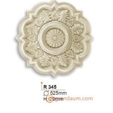 Потолочная розетка Gaudi Decor R345