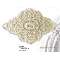 Потолочная розетка Gaudi Decor R361