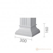 База для гипсовой колонны б-12 (квадрат)