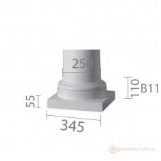 База для гипсовой колонны б-11 1/2 (энтазис)