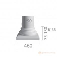 База для гипсовой колонны б-13а (энтазис)