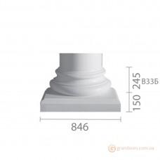 База для гипсовой колонны б-33 (1/2)