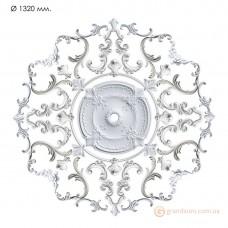 Наборная розетка из гипса Нр-инд. 7 диаметр 1320 мм