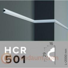 Молдинг с гладким профилем Grand decor HCR 501 (2,00м)