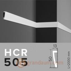 Молдинг с гладким профилем Grand decor HCR 505 (2,00м)