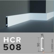 Напольный плинтус с гладким профилем Grand decor HCR 508 (2,00м)
