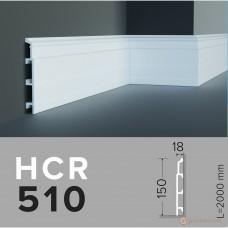 Напольный плинтус с гладким профилем Grand decor HCR 510 (2,00м)
