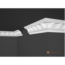 Потолочный плинтус с орнаментом, багет Marbet B23 70*71MM